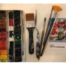 Akvarelworkshop 2 gange i foråret