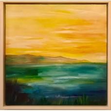 Solhilsen maleri inspireret fra Fur