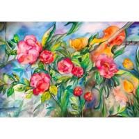 Akvareller til salg