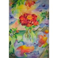 Plakat af Blomsterbillede