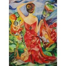 Plakat - Maskarade 40 x 50 cm Galleri H