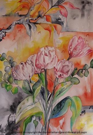 art by mettehansgaard in galleri h