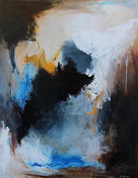 Abstrakt Kunst Til Salg anne lethan